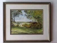 New Forest Watercolour original, signed exc condition.