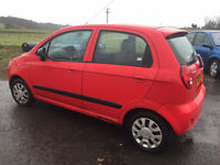 IDEAL FIRST CAR' MATIZ LX,995cc, MOT TODAY , 50,000 MILES' CHEPA 'N' CHEERFUL £599