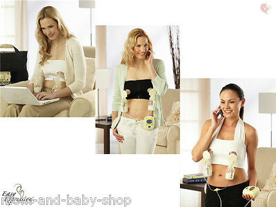EASY EXPRESSION BUSTIER HALTER HANDS FREE PUMPING BRA