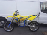 2003 husaberg 470cc motd taxed v5 px welcome ?? 85 125 250 450 cash either way Blackpool.