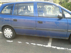 Zafira (2003) for repair project or parts