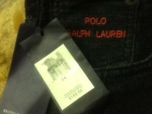New Polo black jeans size 34