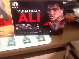 8 /. New DVDs of Muhammad Ali. At a bargain price