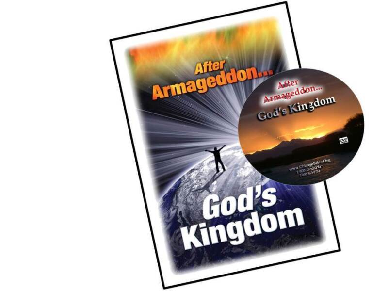 AFTER ARMAGEDDON - GOD'S KINGDOM Video DVD - What, When, Why, and Joys to Follow