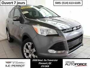 2013 FORD ESCAPE AWD SEL TOIT PANO, CUIR , NAVIGATION,