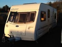 2006 luner QUASER 615/5 berth with fixed bunk beds twin axel