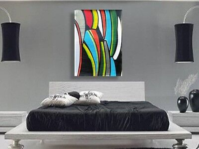 Huge Original Abstract Acrylic Painting 44 x 31, Large, Modern, by D.M. Grimes
