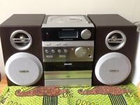 Philips cd & cassette player