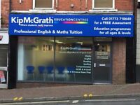 Tuition in maths and English at Kip McGrath Education Centre. Call for free assessment 01773 718640