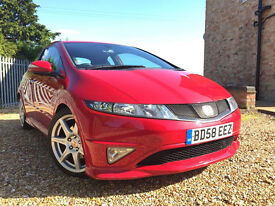 2008 HONDA CIVIC TYPE R , ONLY 107K, 3 DOORS, SERVICE HISTORY, RED INTERIOR, NICE AND CLEAN, L@@K!!!