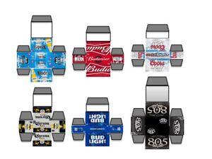 1/24, 1/25 Model Car Mini Beer Boxes, Lowrider, Custom, Diorama,BR1