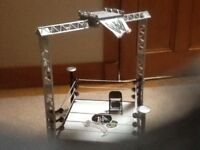 WWE Wrestling Ring and Figures