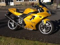 Triumph Daytona 955i 2006 excellent condition.