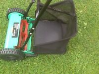 Hand push lawn mower as new