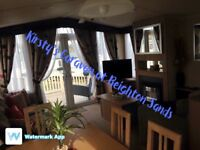 Caravan to rent on Lakeside at Reighton Sands, Filey (pet friendly)