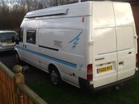 Ford transit two berth motorhome