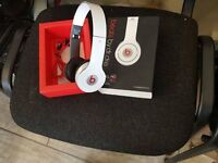Beats By Dr Dre White-Used