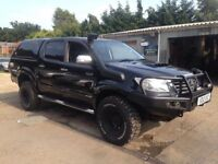 ** NEWTON CARS ** 12 TOYOTA HILUX 3.0 INVINCIBLE D4D DCB 4x4, LIFT KIT, LOADS SPENT, MOT JUL 2019