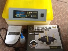 Incubator and chick brooder