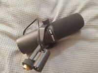 Shure SM7B Vocal Dynamic Microphone (Hardly Used) - PLEASE Read The Description For Details.
