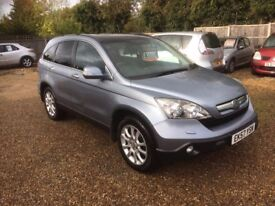 2007 [57] HONDA CR-V 1 OWNER FROM NEW 2.0 PETROL AUTOMATIC