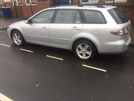 Mazda 6 . 2.0 Diesel Manual Silver estate great condition low miles full service