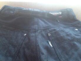 Triumph motorcycle jeans