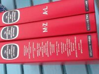 Reader's Digest Great Encyclopeadic Dictionary - 3 volumes (excellent condition)