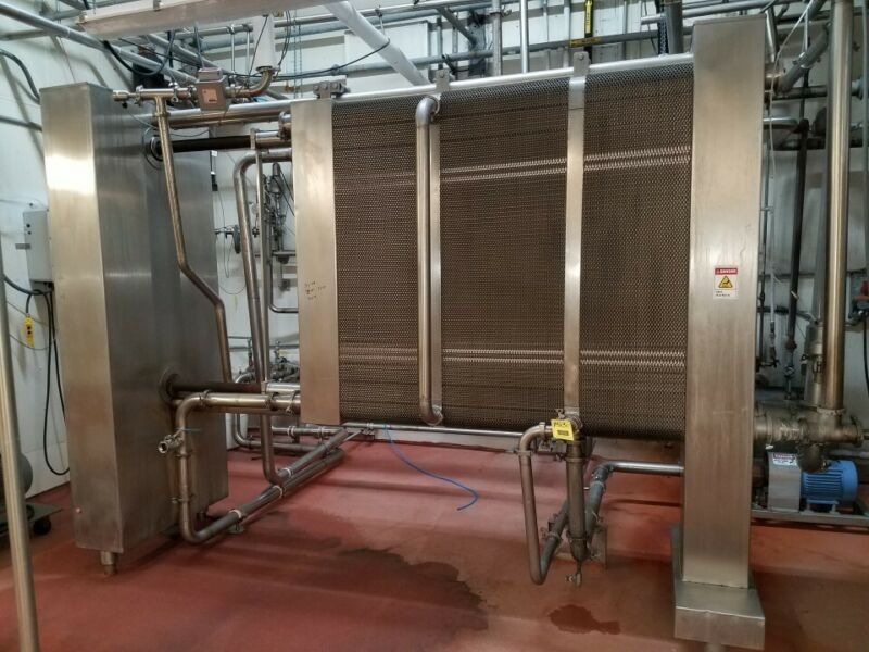 APV 20,000-30,000LB/HR Pasteurizer, Plate and frame heat exchanger