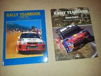 Rally yearbooks 1998 and 2008