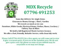 House Clearance, Removals including Single Item Delivery