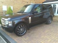 Range Rover Vogue for sale lpg converted.