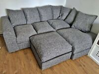 👑AFFORDABLE NEW BARCELONA CORNER SOFA AVAILABLE IN 3+2 SOFA SET AS WELL👑