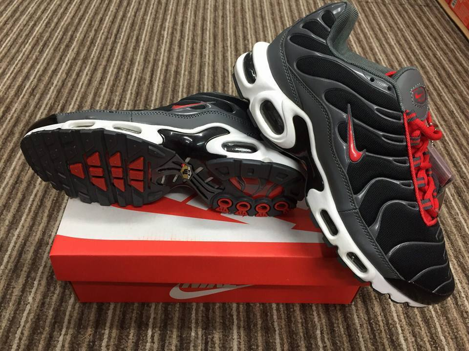 info for 63ad7 a4485 ... foot locker exclusive kompromisslos via kicks daily 15318 67f0c czech nike  air max tn trainers black grey white red size uk 02f25 a19a0 ...