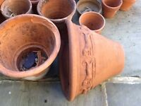 Garden Clay Pots and other treasures