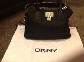 Genuine brand new ladies DKNY padlock style bag -£90