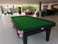 Snooker table 10 x 5 ft. STEEL BLOCK CUSHIONS