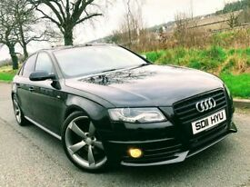 2011 Audi A4 2.0 Tdi S-Line Black Edtion ***FINANCE FROM £56 A WEEK***