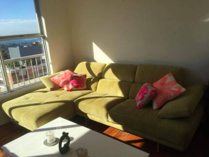 Designer lounge/sofa with chaise, Nick Scali great condition Randwick Eastern Suburbs Preview