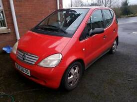 Parts only Mercedes A160 Automatic