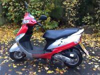 50cc V Clic moped