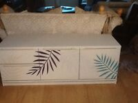 Hand painted tv unit FREE