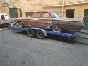 1962 bel air fisher body right hand drive 350 sbc Queanbeyan Queanbeyan Area Preview