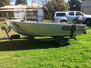 2002 4.2m Stacer with 30hp yamaha motor Harrisville Ipswich South Preview