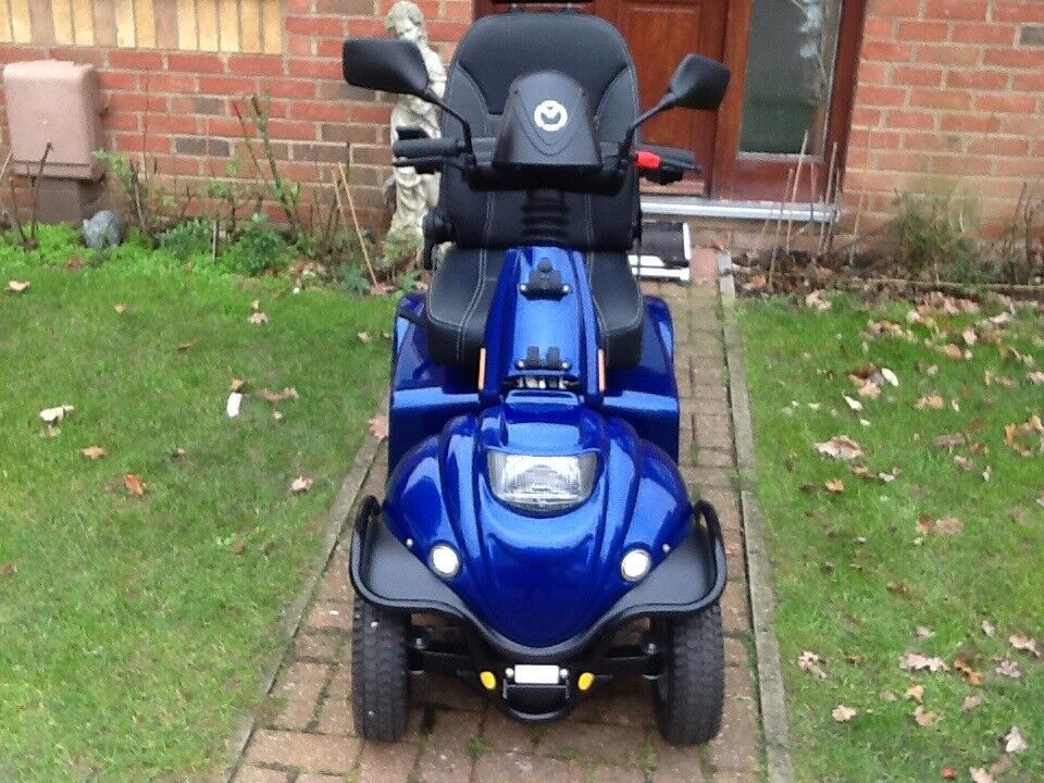 Mini Crosser M2 4 wheel registered for road use mobility scooter