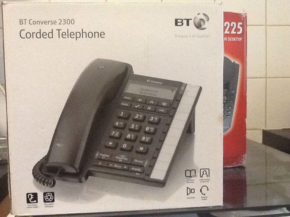 2 brand new desk phones.