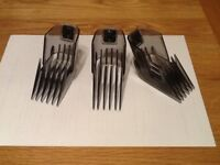 3 new Remington hair replacement clippers, size 24 to 42, for series SP-Hc5000