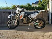 Ktm 530 09 enduro green laning supermoto swap for a two stroke