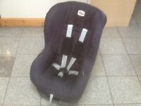 Very popular Britax Eclipse group 1 car seat for 9mth to 4yrs(9kg-18kg child weight),washed&cleaned