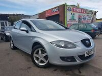 **3 MONTHS WARRANTY** SEAT LEON SPORT 1.6 (2007) - 5 DOOR - NEW MOT - HPI CLEAR!